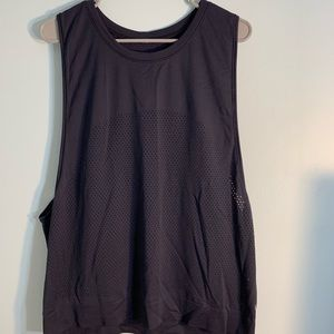 Navy lululemon tank top size 8